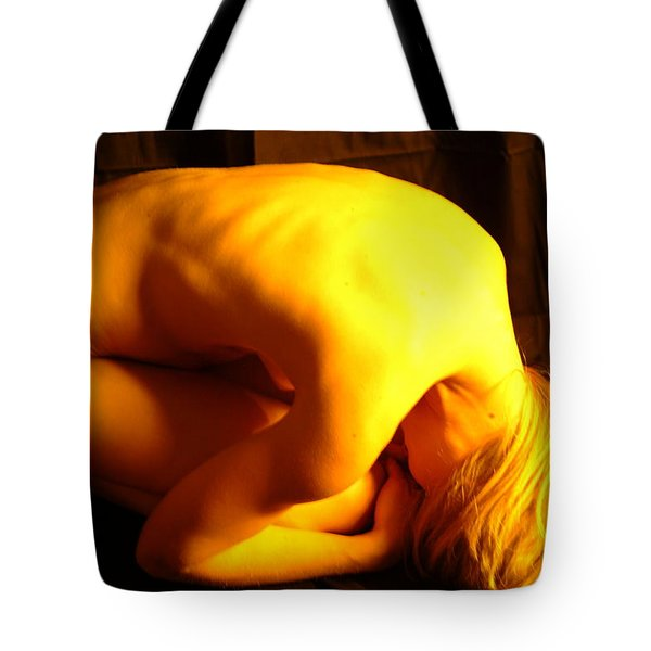 Contortion Tote Bag