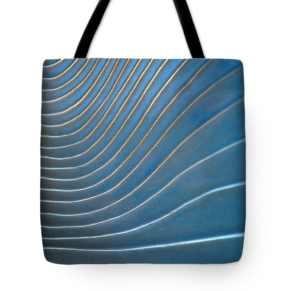 Contours 1 Tote Bag by Wendy Wilton