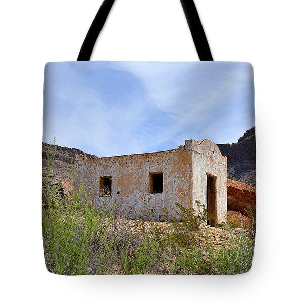 Contrabando Movie Set Tote Bag by Christine Till