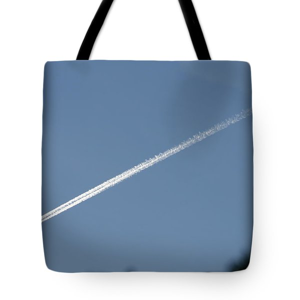 Contrail Tote Bag by David S Reynolds