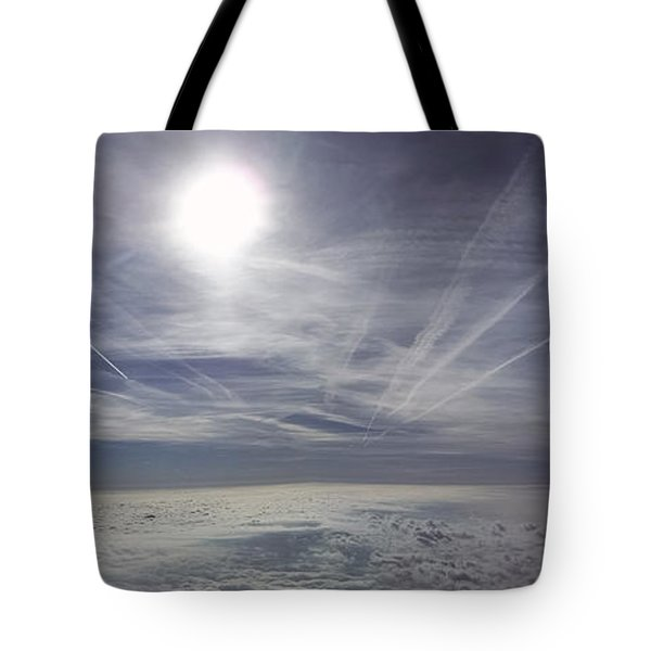 Contrail Panorama Tote Bag