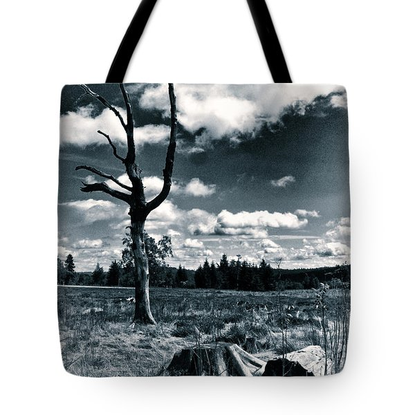 Contrasting Feelings Tote Bag by Simona Ghidini