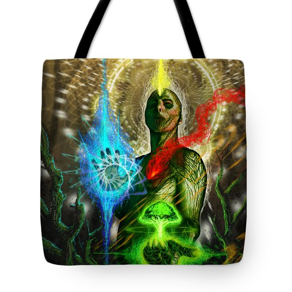 Control Your Elements  Tote Bag