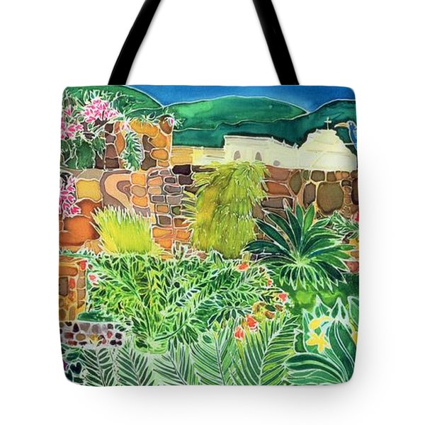 Convent Gardens Antigua Tote Bag by Hilary Simon