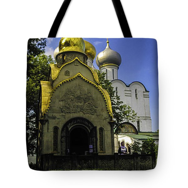 Convent - Moscow - Russia Tote Bag by Madeline Ellis
