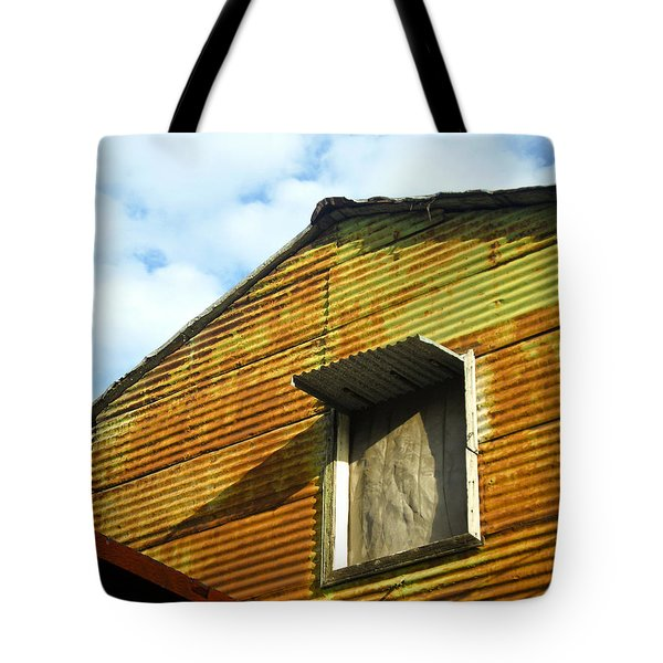 Tote Bag featuring the photograph Conventillo by Silvia Bruno