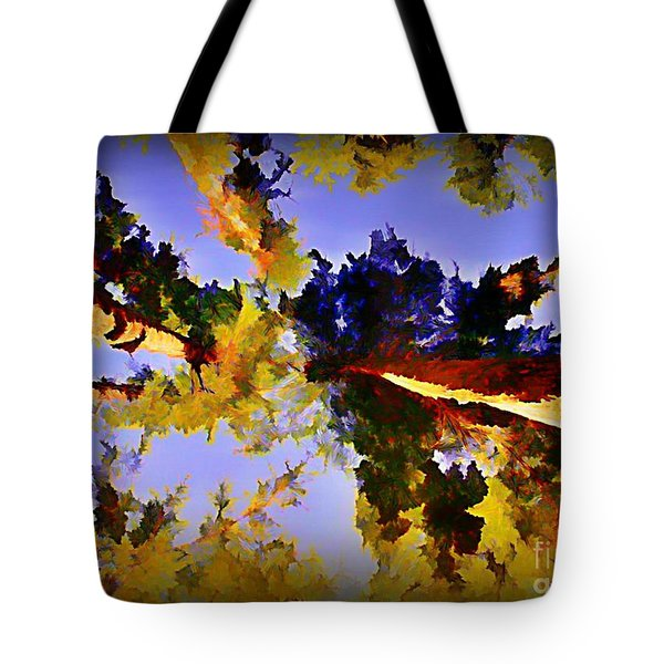 Convergent Perspective Tote Bag by John Malone Halifax Artist