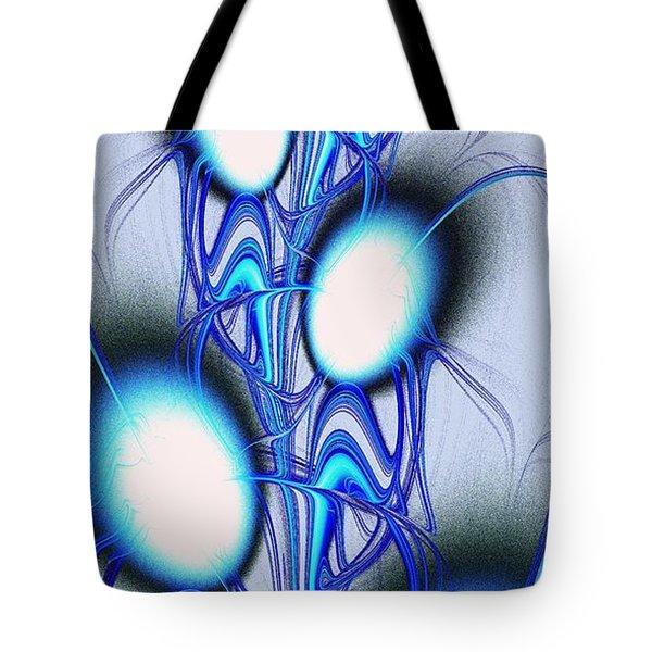 Conversation Tote Bag by Anastasiya Malakhova