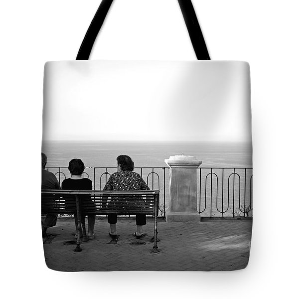 Conversations By The Sea Tote Bag
