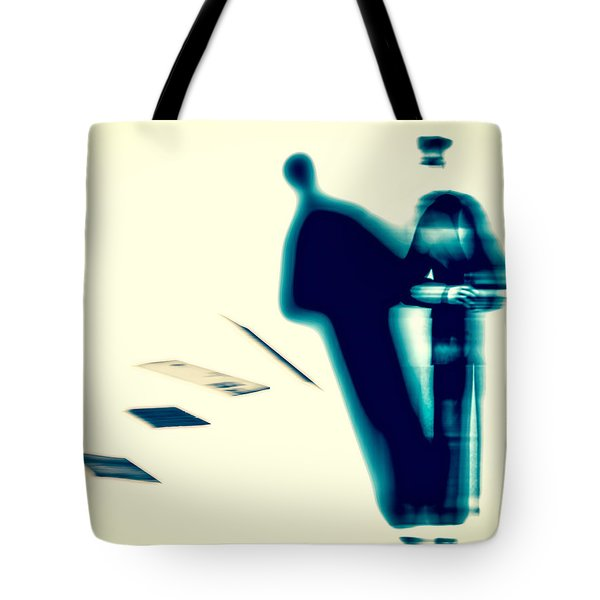 Conversations With The Postman Tote Bag by Bob Orsillo