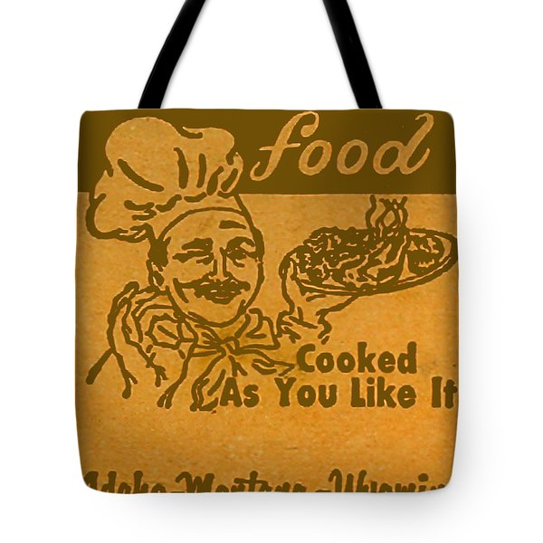 Tote Bag featuring the digital art Cooked As You Like It by Cathy Anderson