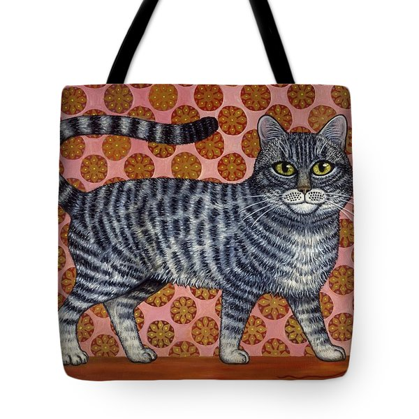 Cookie Cat Tote Bag by Linda Mears