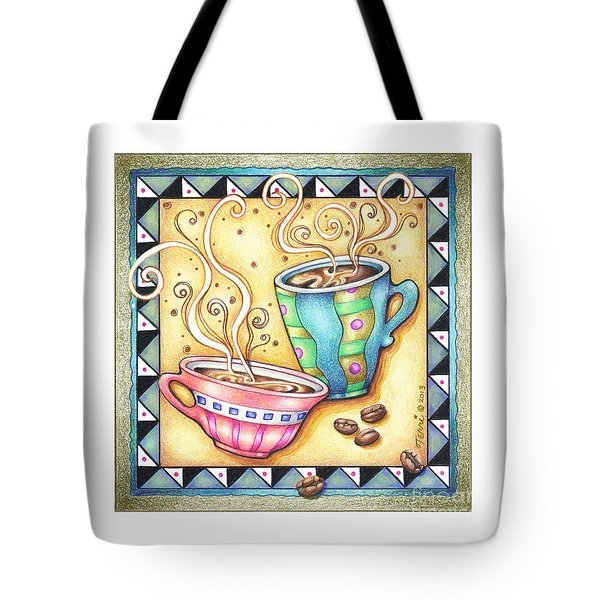 Cool Beans Tote Bag by Pop Art Diva