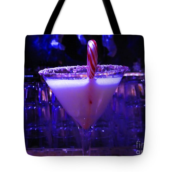 Cool Blue Cocktail Tote Bag by Kym Backland
