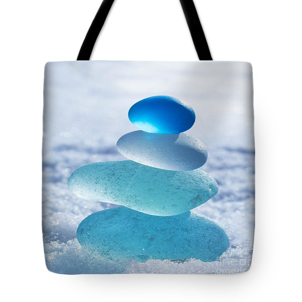 Cool Blues Tote Bag