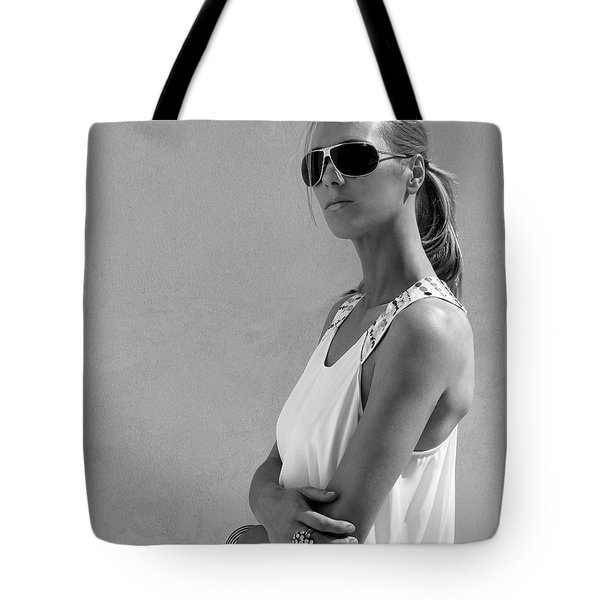 Cool Catherine Palm Springs Tote Bag by William Dey