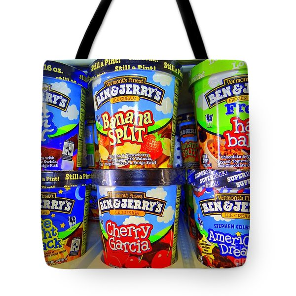 Cool Cremes Tote Bag