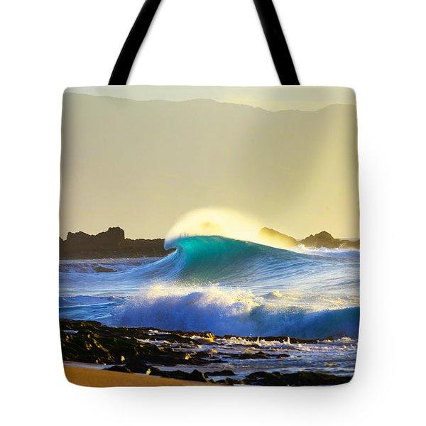 Cool Curl Tote Bag by Sean Davey