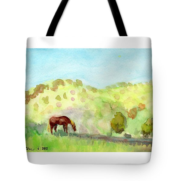 Cool Drink Tote Bag by C Sitton