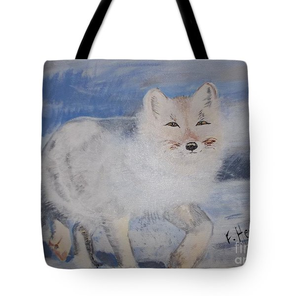 Cool Fox Tote Bag by Francine Heykoop