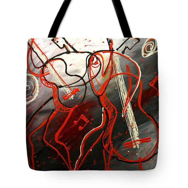 Cool Jazz 2 Tote Bag