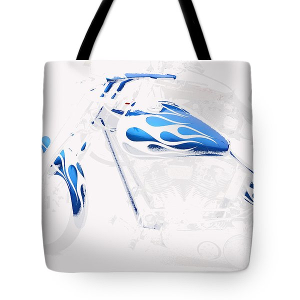 Cool Motorcycle Tote Bag