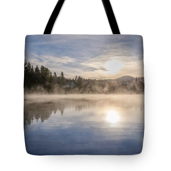 Cool November Morning Tote Bag