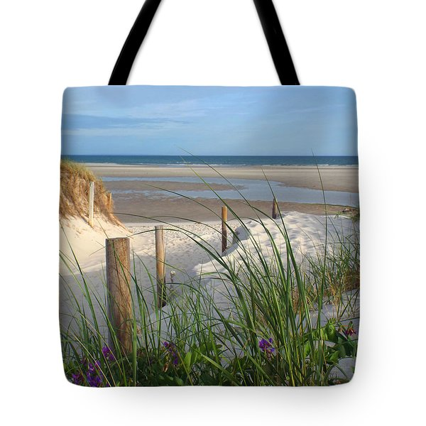 Tote Bag featuring the photograph Cool Of Morning by Dianne Cowen