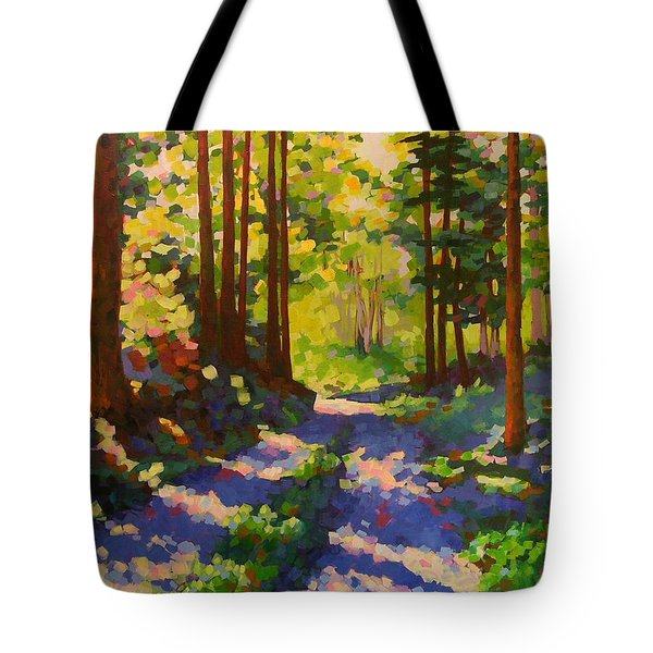 Cool Of The Shade Tote Bag by Mary McInnis