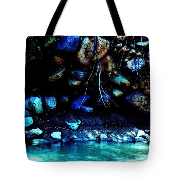 Tote Bag featuring the photograph Coal Creek Cedar Canyon Utah by Deborah Moen
