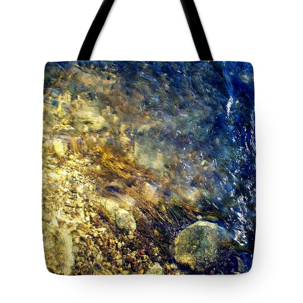 Cool Waters...of The Rifle River Tote Bag by Daniel Thompson