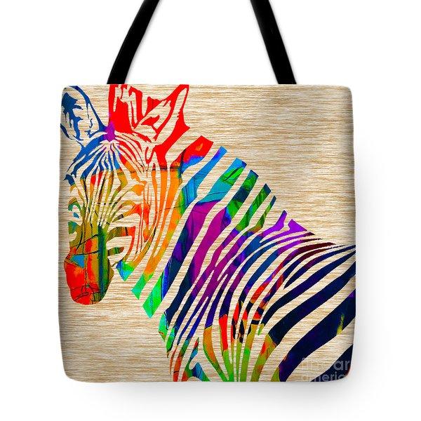 Cool Zebra Tote Bag