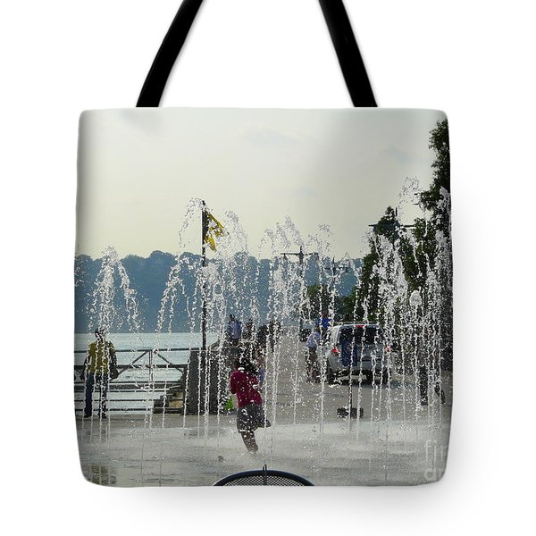 Cooling Off Tote Bag by Avis  Noelle
