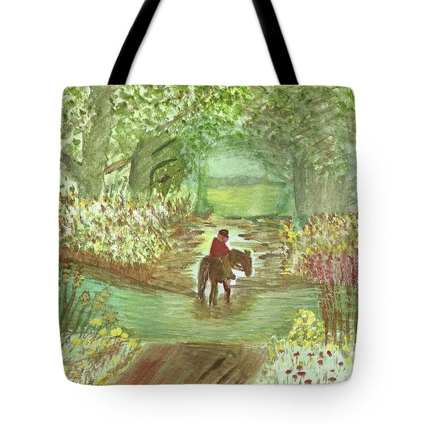 Cooling Off Tote Bag by Tracey Williams