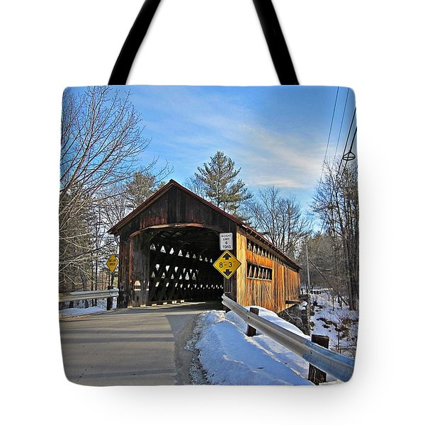 Coombs Covered Bridge Tote Bag