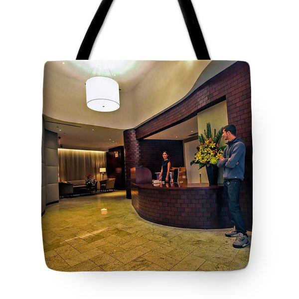 Cooper Lobby Tote Bag
