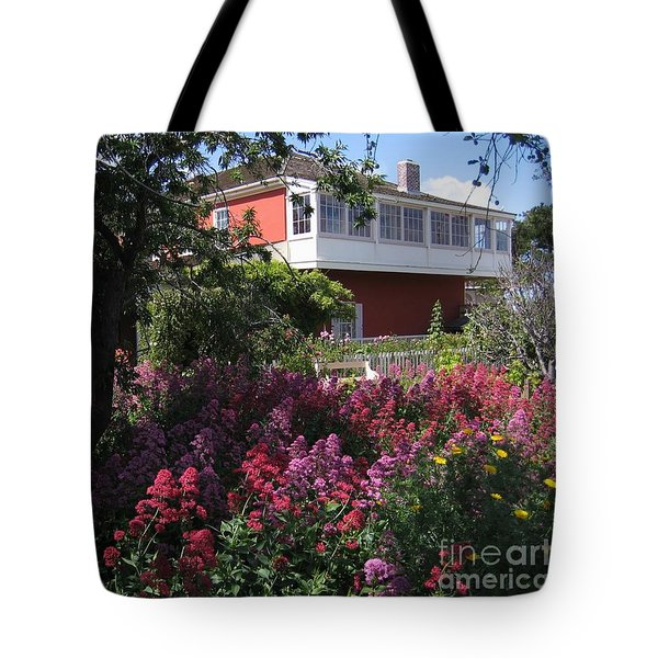 Tote Bag featuring the photograph Cooper-molera Garden by James B Toy