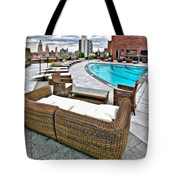 Cooper Roof Tote Bag