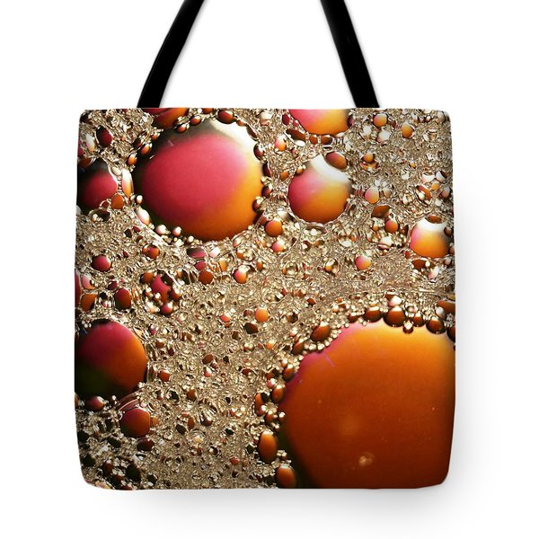 Copper And Tin Tote Bag