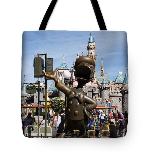 Copper Donald Tote Bag by David Nicholls