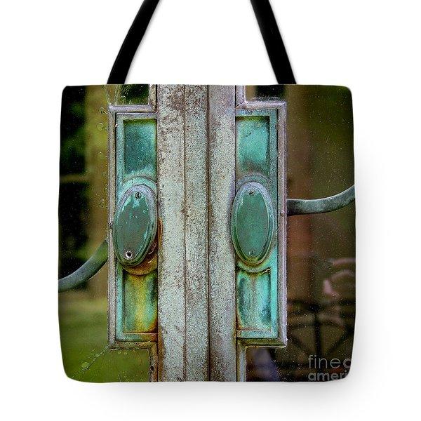 Copper Doorknobs Tote Bag