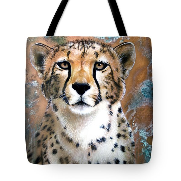 Copper Flash - Cheetah Tote Bag