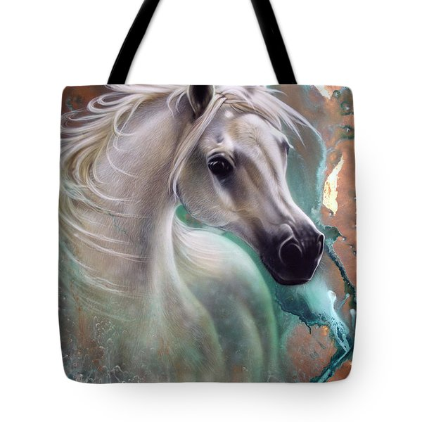 Copper Grace - Horse Tote Bag
