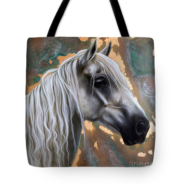 Copper Horse Tote Bag