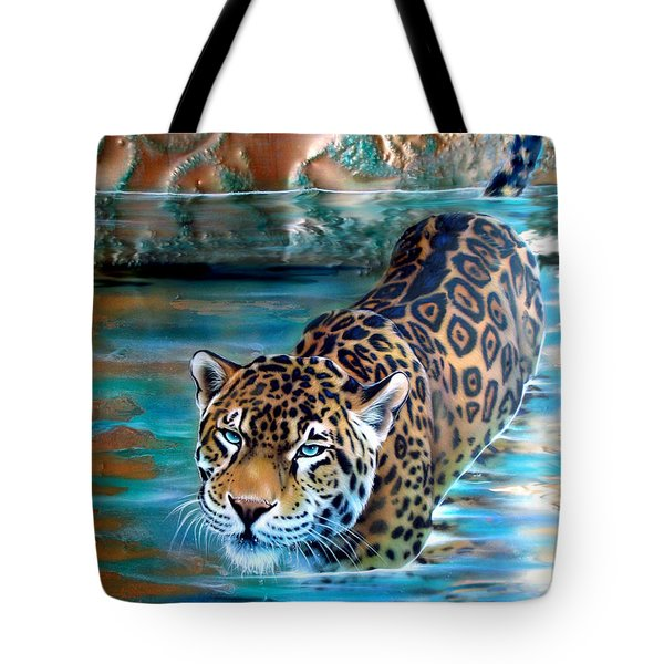 Copper - Temple Of The Jaguar Tote Bag