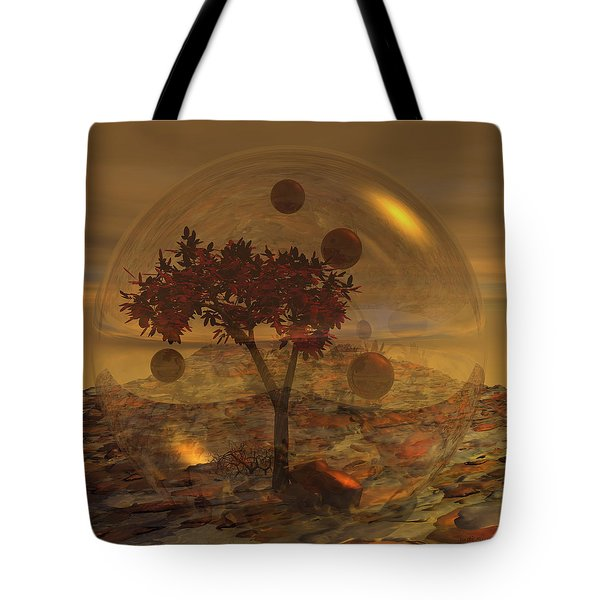Copper Terrarium Tote Bag