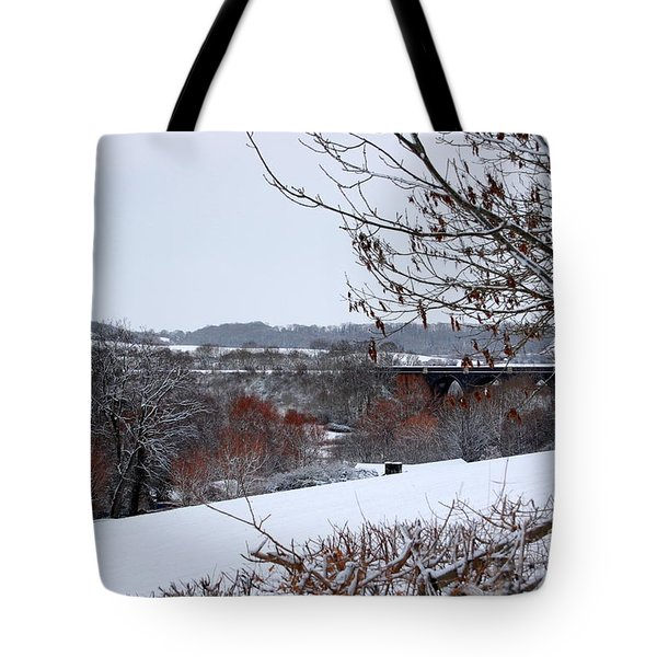 Copper Tones Tote Bag by Linda Prewer
