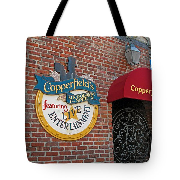 Copperfields Tote Bag by Barbara McDevitt