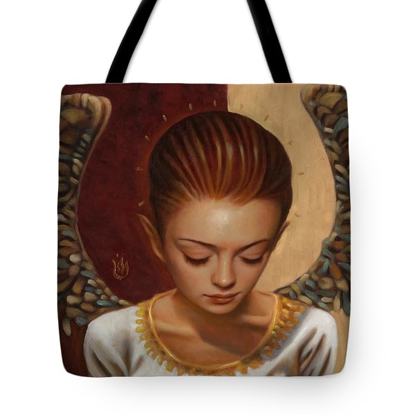 Coppertop Tote Bag by Vic Lee