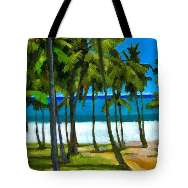 Coqueiros De Tiririca Tote Bag